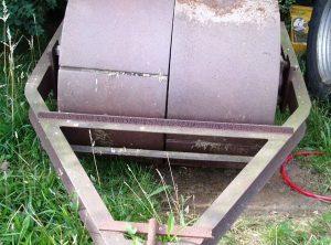 AVELING & PORTER? Steam Roller Front Roll
