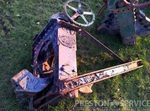 AVELING & PORTER Steam Roller Scarifier