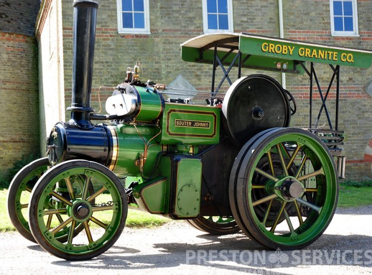 Aveling_Tractor_Groby_1
