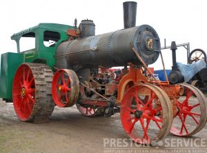 AVERY 22 HP Undermounted Traction Engine