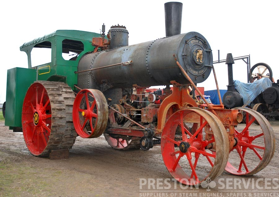 Avery 22 Hp Undermounted Traction Engine Preston Services