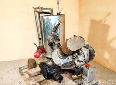 Experimental BMC Mini 1970 Steam Engine