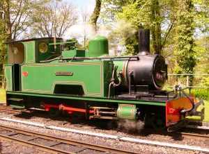 Bagnall 2 Ft Gauge Steam Locomotive