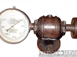 "BAILEY'S ""Gyrometer"" Tachometer, Stationary & Generator Set Engines"