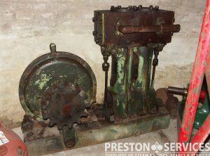 Steam Engine Barring Engine, Duplex Cylinders 5″ x 8″
