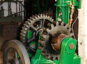 POLLIT & WIGZELL Steam Engine 'Barring Engine'