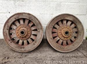 BAULY Steam Wagon Wheels (2)