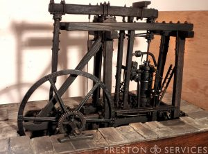 Boulton & Watt Beam Engine Model 19th Century