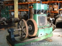 BELLISS & MORCOM Compound Generator Set Engine