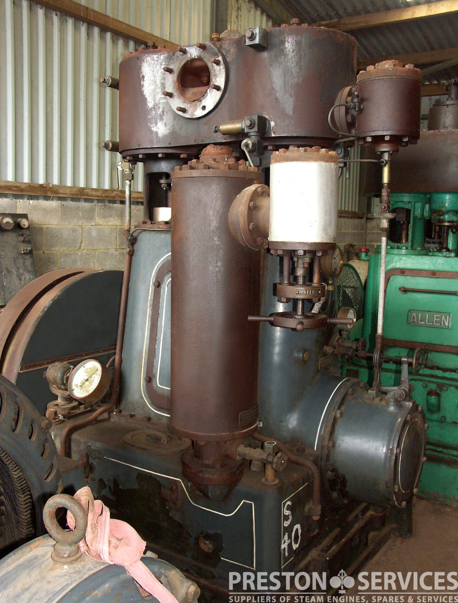 BELLISS & MOR pound Generator Set PRESTON SERVICES