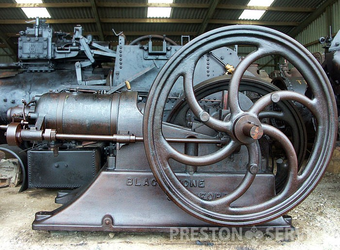 Blackstone Oilengine on Hp Steam Engine