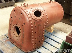 Steam Launch Type Marine Boiler, Small