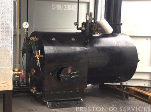 Locomotive Style Boiler