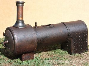 Antique Locomotive Type Boiler
