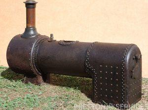 Antique Locomotive Type Boiler