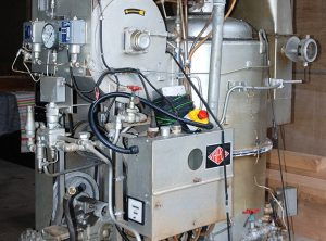 STONE-VAPOR 'VAPORAX' Gas Fired Vertical Steam Boiler