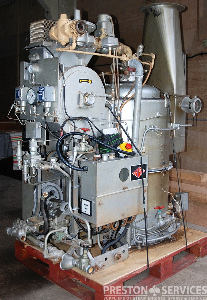 Stone Vapor Vaporax Gas Fired Vertical Steam Boiler