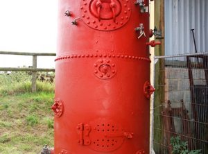 Water Tube Steam Boiler, 9 Ft High