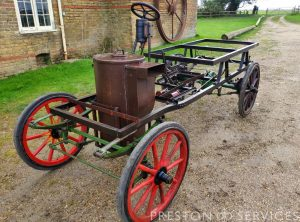 BOLSOVER Steam Car
