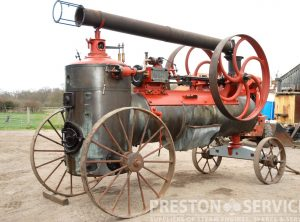 BRELOUX 7 NHP Portable Steam Engine