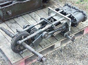 BROOKS Steam Car Engine