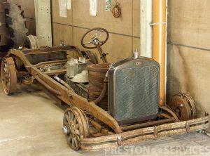 1926 BROOKS Steam Car