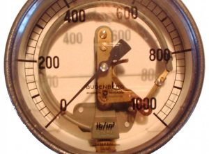 BUDENBURG 6″ Transparent Pressure Gauge