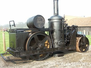 BUFFALO SPRINGFIELD 7 Ton Steam Roller