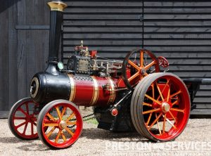 6 Inch Scale BURRELL Traction Engine
