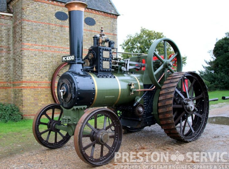 Burrell 6 Nhp Traction Engine  U2013 Preston Services