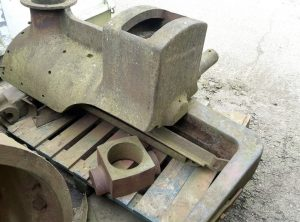 BURRELL Steam Roller Headstock & Wheels