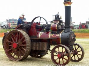 BURRELL 6 NHP Traction Engine
