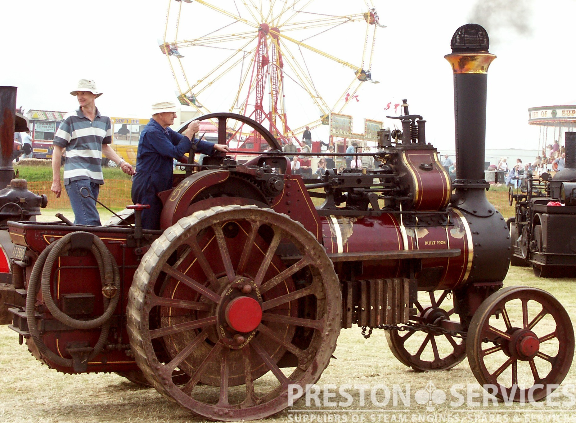 BURRELL 6 NHP Traction Engine PRESTON SERVICES