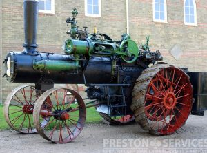 CASE 40 BHP Traction Engine
