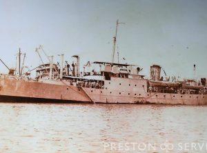 "HMS ""Bullfrog"" Steam Ship"