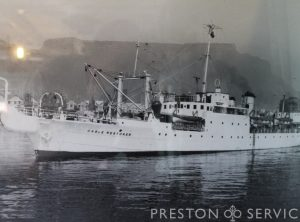 "HMS ""Bullfrog"" Steam Ship"