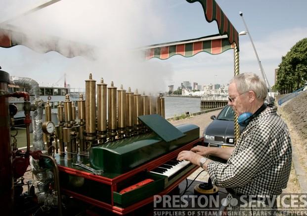 Organ For Sale >> Calliope Steam Organ - PRESTON SERVICES