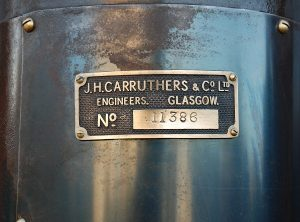 CARRUTHERS Bronze Ended Vertical Boiler Feed Pumps (Pair)