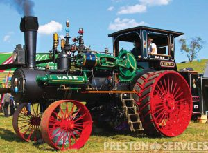 CASE 110 HP Traction Engine