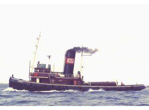 """Steam Tug """"CERVIA"""""""