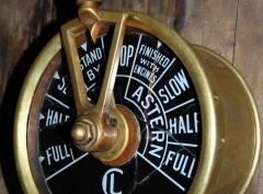 CHADBURNS Engine Room Telegraph
