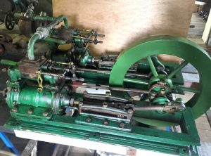 CLARKE Duplex Workshop Steam Engine