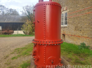 CLARKSON Thimble Tube Steam boiler