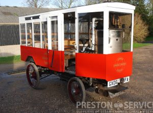 Miniature Steam Wagons
