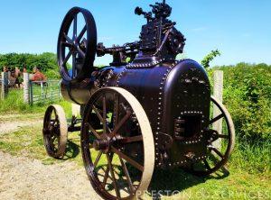 CLAYTON & SHUTTLEWORTH 2½ NHP Portable Steam Engine