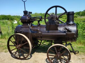 CLAYTON & SHUTTLEWORTH 2½ NHP Portable Steam Engine