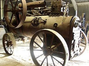 CLAYTON & SHUTTLEWORTH 8 NHP Portable Steam Engine