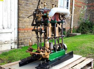 BELLISS & MORCOM Compound Steam Launch Engine