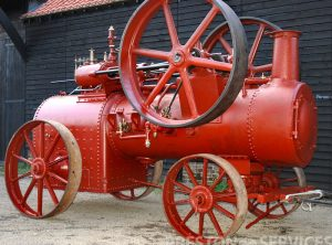DAVEY PAXMAN 10 NHP Portable Steam Engine