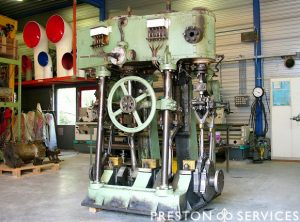 DE KLOP Compound Marine Engine